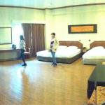 panorama view of our room