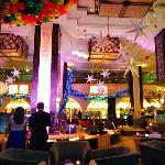 New years eve in the Songket Lounge