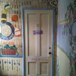 The door to our room, in the annex.