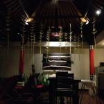 A gem in busy Seminyak - our in-villa BBQ dinner set-up