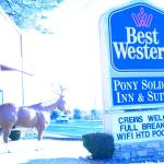 Foto de BEST WESTERN Pony Soldier Inn & Suites