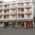The hotel front view