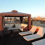 Riad El Zohar Roof Terrace with view of Marrakech
