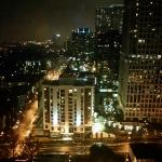 View from the 26th Floor at Night in Midtown Atlanta in the Loews Hotel, Atlanta
