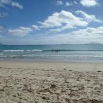 This is peak season at Waipu.....miles of sand, surf and sunshine