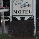 Country Acres Motel Foto