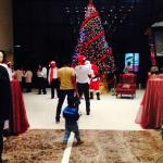 Lobby- Christmas celebration at Ramada 2014