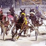Winter time racing
