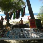 Check out the beach vendors!