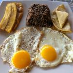 Breakfast (Gallo Pinto)
