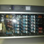 Vending machine in hotel