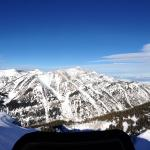 View from the top of Rendezvous at the tram station