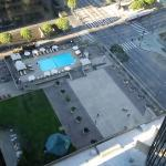 View of pool from 27th floor