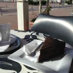 Coffee Shop outside view of Promenada (chocolate cake not included)