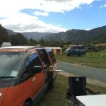 Camping out at The Barn in Marahau