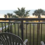 View from our room, Dayton House Suites