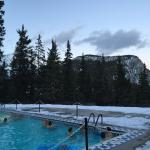 Banff Springs outdoor heated pool