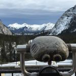 Scenic view from Banff Springs Hotel