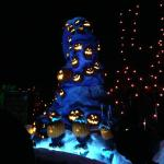 Nightmare before Christmas in the Haunted Mansion