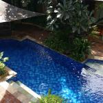 Vie on pool from 2nd floor