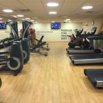 Gym facilities.