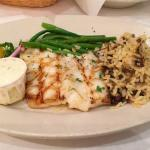 Olive oil grilled sea bass,   a must try for fish lovers