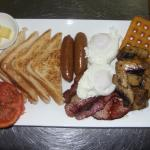A BIG Breakfast available from the Brasserie Café