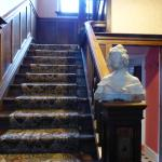 Staircase in second house
