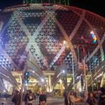 Grand Lisboa at night