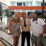 Great Riu staff for our honeymoon