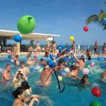 Water balloon fight at Riu. Mine if the best activities ever at any resort
