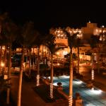 An enticing shot taken late at night - note that the property extends away from the beach