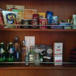 food closet: one of the two places to store your stuff in