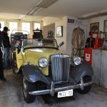 MG antique car collection