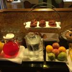 Part of the continental breakfast at Inn on Union Square