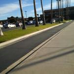 Walking along the marina boardwalk behind the hotel. At the Ventura west marina you will also fi