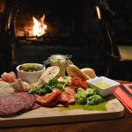 Sit by our log fire and enjoy one of our chef's delights