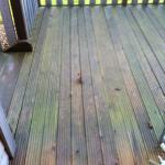 don't slip on the decking