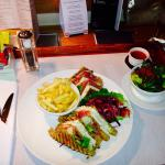 Not just any ordinary club sandwich!