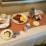 In room breakfast - amazing