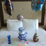 Birthday package from captains quarters