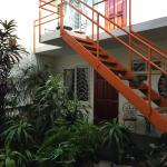 Inner Courtyard Stairs to upper floors