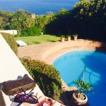 Pool & stunning ocean view at guesthouse