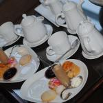 A very special afternoon tea