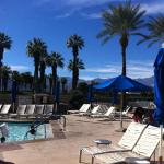 poolside at JW Marriott Palm Desert