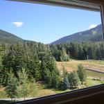 View of slopes from room