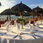 Wedding Reception set up (the flowers were not provided by the hotel)