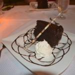 Chocolate cake at Sirena