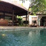 Pool and family area