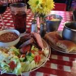 Great BBQ served attractively by an attentive staff. A great deal!